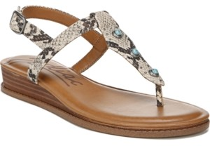 Zodiac Giselle T-Strap Demi-Wedge Sandals Women's Shoes