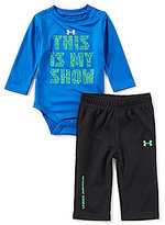 Under Armour Baby Boys Newborn-12 Months This Is My Show Bodysuit & Pants Set