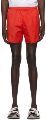 Balenciaga Red Nylon Running Shorts