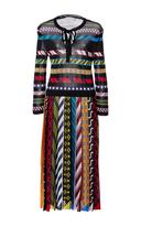 Mary Katrantzou Faye Long Sleeve Printed Dress