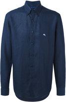 Etro classic shirt - men - Linen/Flax - 39