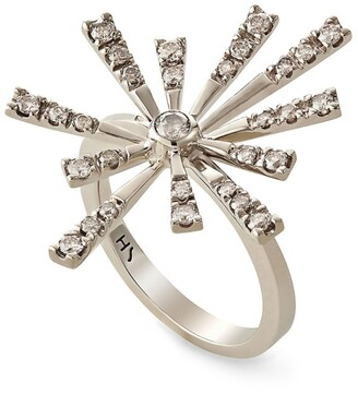 H.Stern Noble Gold And Diamond Flow Ring