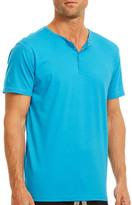 Papi Snap Button Henley Shirt