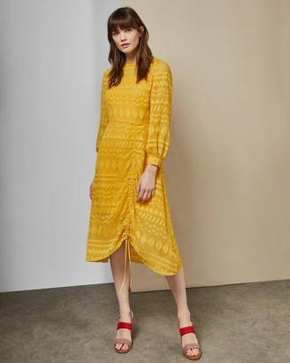 Ted Baker Ruched Midi Dress