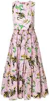 Fausto Puglisi floral print dress