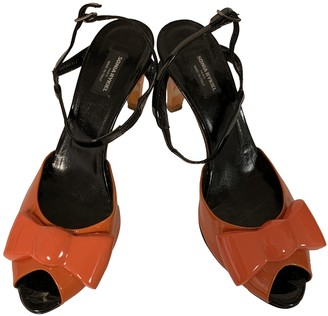 Sonia By Sonia Rykiel Orange Patent leather Sandals