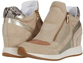 Geox Nydame 12 (Light Taupe/Light Gold) Women's Shoes