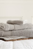 Amrapur 3-Piece Turkish Cotton Towel Set - Grey
