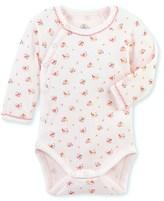 Petit Bateau Newborn baby girls bodysuit