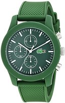 Lacoste Men's 2010822 12.12 Analog Display Japanese Quartz Green Watch