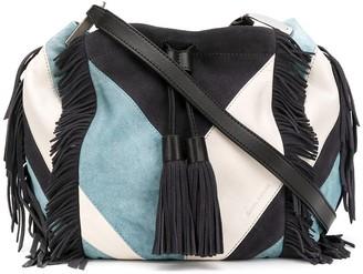 Isabel Marant Jeeba patchwork fringe bag