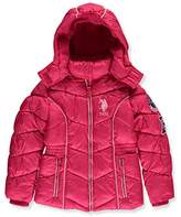 U.S. Polo Assn. Baby Girls' Bubble Jacket (More Styles Available)