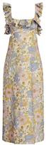 Zimmermann Super 8 Frilled Maxi Dress