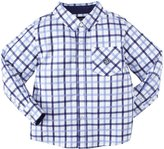 Andy & Evan Check Marks The Spot Shirtzie (Toddler/Kid) - Red-4T
