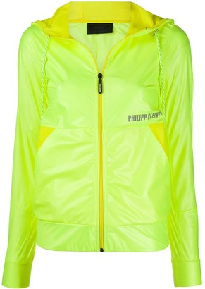 Philipp Plein Logo Windproof Jacket