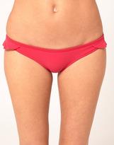 Oasis Plain Frill Bikini Bottom