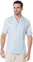 Cubavera 100% Linen Short Sleeve Classic Guayabera