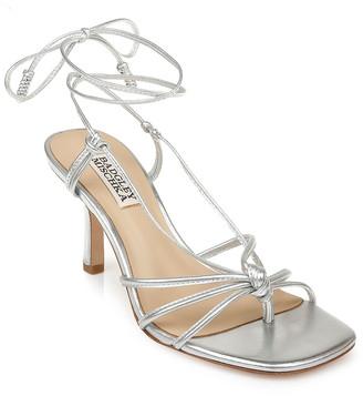 Badgley Mischka Jovial Ankle-Tie Sandals