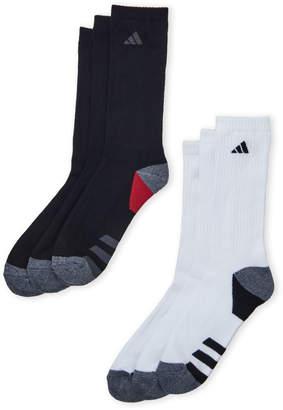 adidas 6-Pack Cushioned Crew Socks