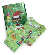 "Toddler's & Little Boy's Three-Piece ""Pete the Cat Saves Christmas"" Pajamas & Book Set"