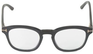 Tom Ford 49MM Square Blue Block Optical Glasses