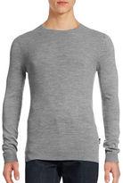 Strellson Milton Crew Neck Wool Sweater