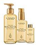 L'anza Lanza Healing Haircare Keratin Healing Oil Hair Treatment 6.2 oz