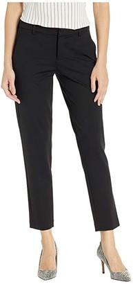 Liverpool Kelsey Knit Trousers (Black) Women's Casual Pants