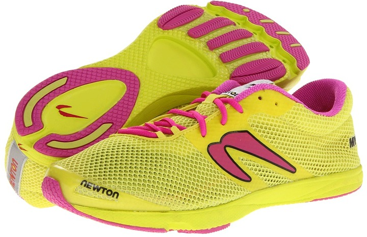 Newton Running - Women's MV (Yellow/Pink) - Footwear