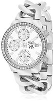 Jivago Women's JV1246 Analog Display Swiss Quartz Silver Watch