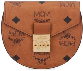 MCM Patricia Visetos Flap Wallet