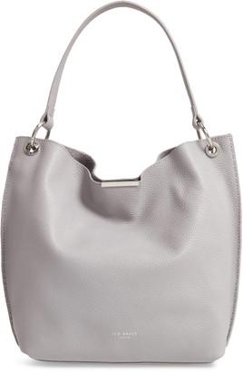Ted Baker Helgesoft Leather Hobo Bag