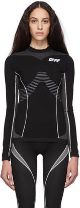 Off-White Black Athletic Long Sleeve T-Shirt