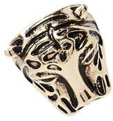 Forever 21 Faux Gem Tiger Statement Ring
