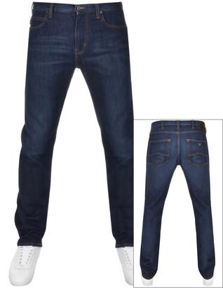 Giorgio Armani Emporio J45 Regular Fit Jeans Blue