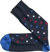 Johnston & Murphy Diagonal Stars Socks