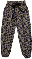Free People Blue Viscose Trousers