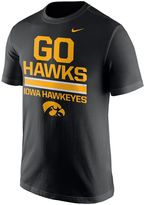 Nike Men's Iowa Hawkeyes Local Verbiage Tee