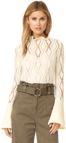 See by Chloe Open Stitch Detailed Blouse