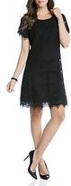 Karen Kane Scalloped Lace Shift Dress