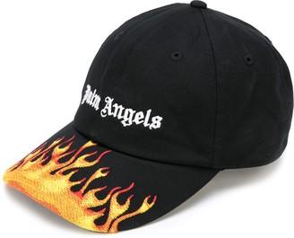 Palm Angels Flames baseball cap