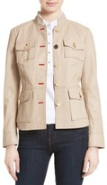 Tory Burch Women's Krista Leather Jacket
