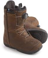 Burton X Frye BOA® Snowboard Boots - Leather (For Women)