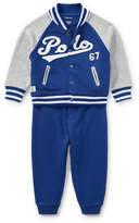 Ralph Lauren Cotton Terry Jacket & Pant Set