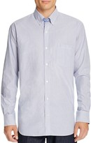 Tailorbyrd Pinstripe Classic Fit Button-Down Shirt