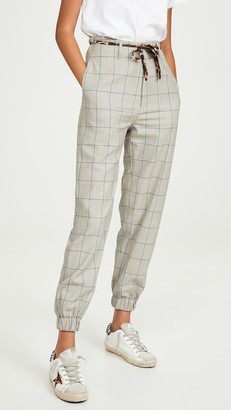 R 13 Pants With Cinched Waist