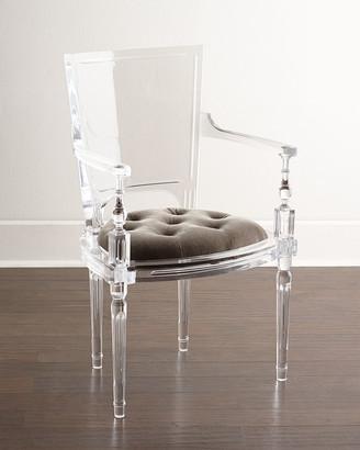Global Views Katherine Acrylic Armchair