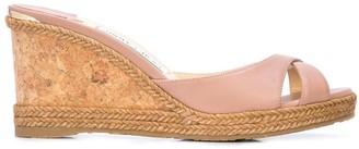 Jimmy Choo slip-on wedge sandals