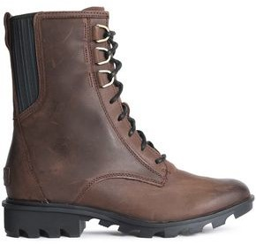 Sorel Phoenix Lace-up Leather Ankle Boots