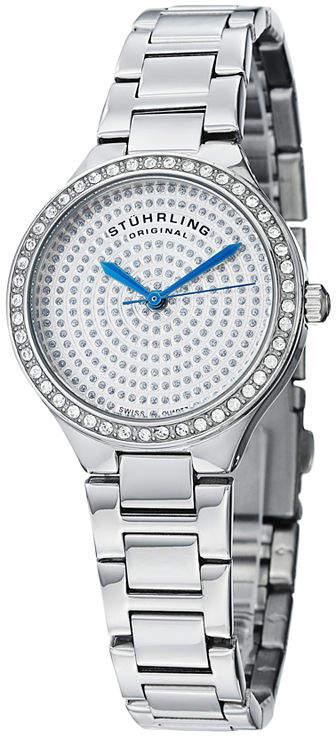 Stuhrling Original Womens Silver Tone Bracelet Watch-Sp14920